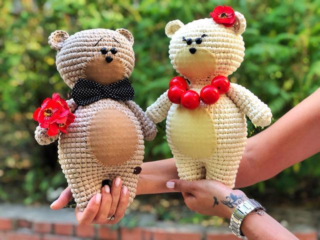 Майстер клас з в'язання іграшки Ведмедик Bobilon