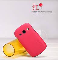 Чехол Nillkin для Samsung Galaxy Fame S6810 красный (+пленка)