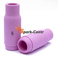 Сопло газовое №6 стандартное 47 мм, Ø10 мм серия 10N48 для горелки WP-17/18/26