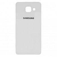 Задняя крышка Samsung A510F Galaxy A5 (2016), белая, Оригинал