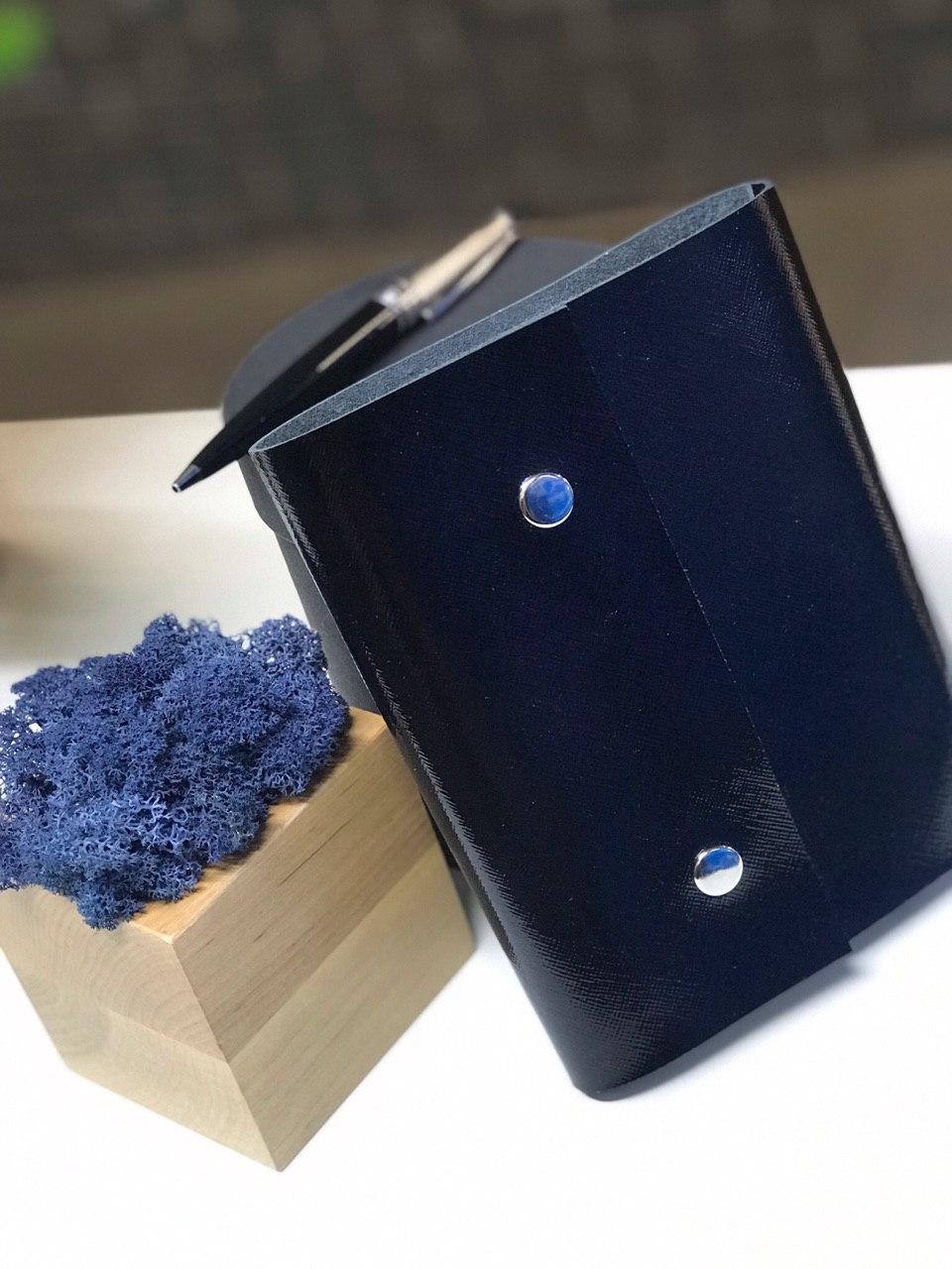 Лаковый софтбук со сменным блоком планер ежедневник А6