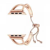 Браслет TTech Steel V-Line strap Series для Apple Watch 42 mm/44 mm Rose Gold