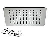 Верхний душ нержавеющая сталь Aqua-World КСД100