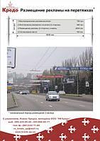 Размещение рекламы на растяжках, троллах, дорожных знаках-указателях