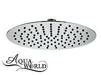 Верхний душ нержавеющая сталь Aqua-World КСД200