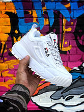 Женские кроссовки Fila Disraptor 2 White