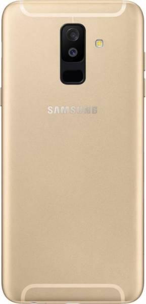 Задняя крышка Samsung A605F Dual Galaxy A6 Plus (2018), золотистая, Оригинал