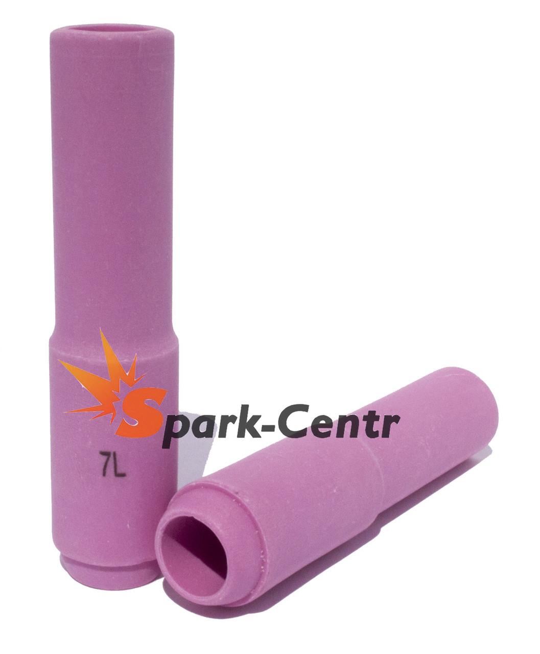 Сопло газовое №7 удлиненное 75 мм, Ø11 мм серия 10N47L для горелки WP-17/18/26