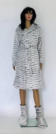 Короткий халат Шиншилла, фото 2
