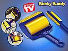 [ОПТ] Липкий валик для прибирання будинку і чищення одягу Sticky Buddy, фото 3