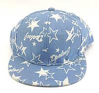 Детская бейсболка кепка с прямым козырьком 49 по 53 размер реперка snapback снепбек детские кепки, фото 1