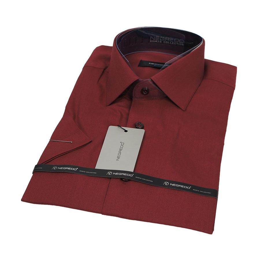 Рубашка мужская приталенная Negredo 26012 Slim