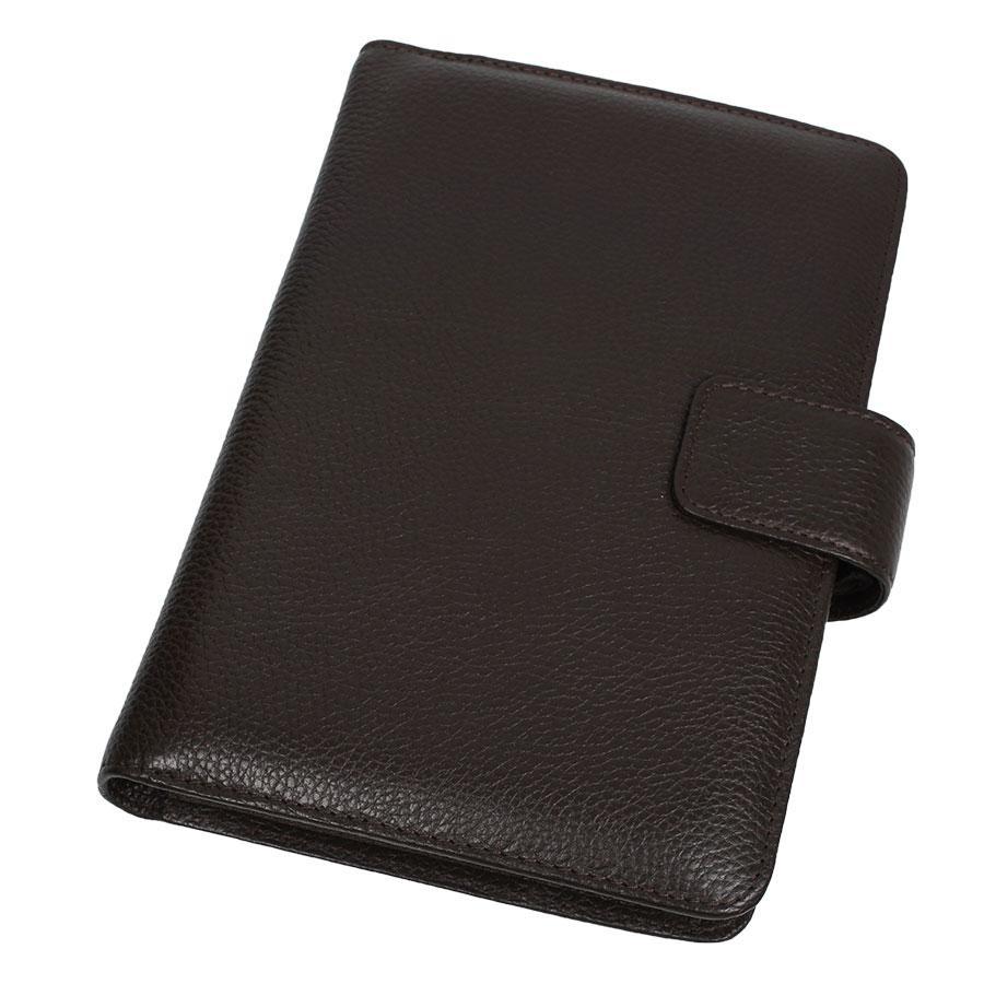 Мужская кожаная обложка для ежедневника Canpellini 551 brown