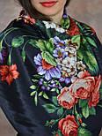 Итальянский полдень 1281-18, павлопосадский платок (атлас) шелковый с подрубкой, фото 9