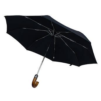 Полуавтоматический мужской зонт в черном цвете  Parasol MA352