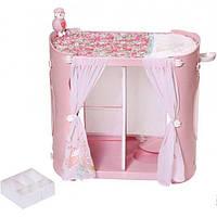 Zapf Creation Гардероб шкаф с пеленальным столиком для куклы пупса Baby Annabell 794111