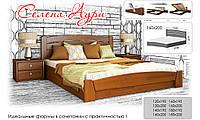 Кровать с подъемным механизмом натуральное дерево Эстелла Селена Аури (массив)