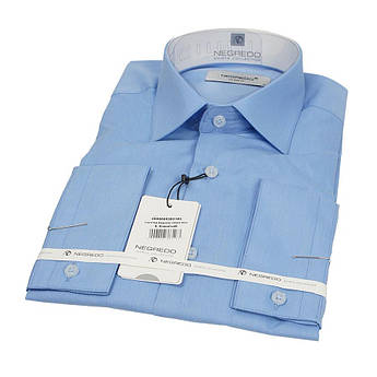 Классическая мужская рубашка Negredo 30098 Slim