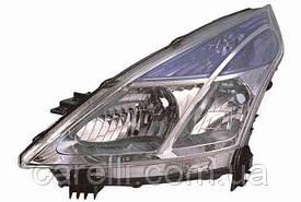 Фара передняя для Nissan Teana '08- правая (DEPO) H11 + H9 под электрокорректор