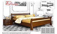 Кровать натуральное дерево Эстелла Диана (массив)