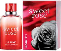 """Парфюмированная вода для женщин La Rive """"Sweet Rose"""" (90мл.)"""