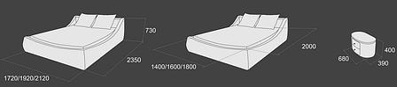 Кровать «Венеция -2», фото 2