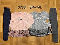 Набор 2 в 1 для девочек оптом, F&D, 3/4-7/8 лет,  № 3788, фото 1