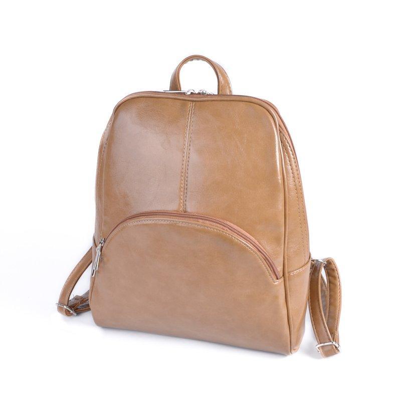 Коричневый женский городской рюкзак М134-32