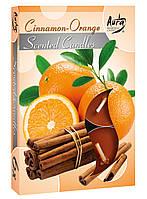 """Свечи таблетки арома """"Корица - Апельсин"""""""
