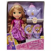 My First Disney Princess Принцессы Диснея Рапунцель с чайным сервизом Toddler Rapunzel With Tea Set