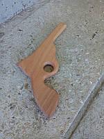 Пистолет детский деревянный