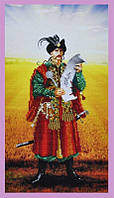 Набор для вышивки бисером Украинский казак Картины бисером