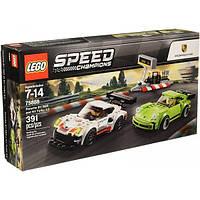 LEGO Speed Champions Автомобили Porsche 911 RSR and 911 Turbo 3.0 75888