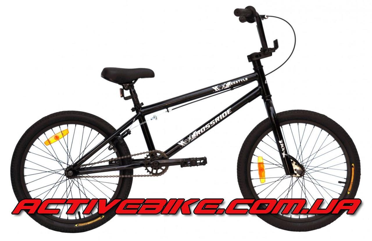"Велосипед CROSSRIDE FREESTYLE 20"" BMX."