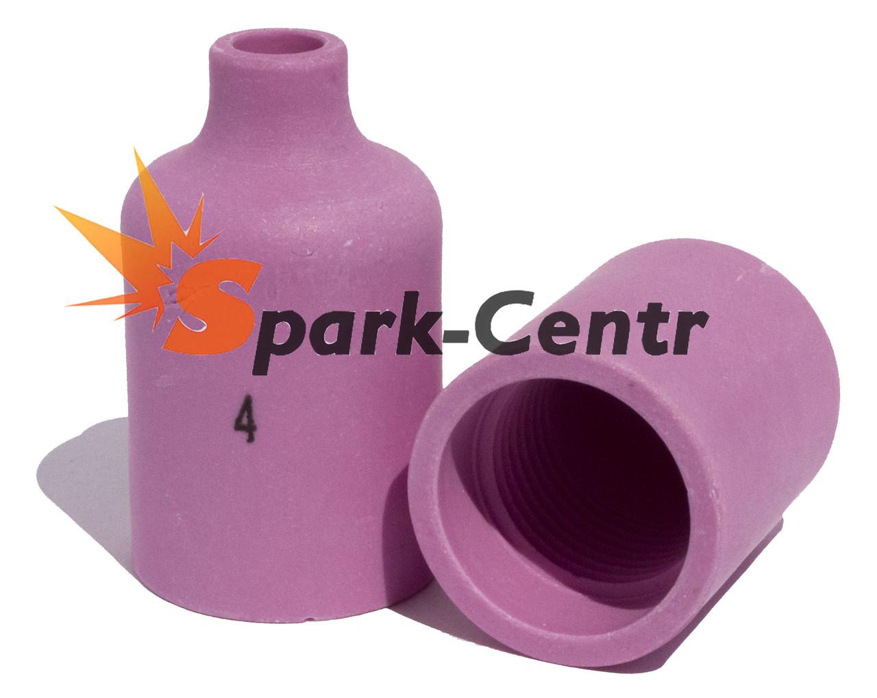 Сопло газовое №4 стандартное для газовой линзы 40 мм, Ø6 мм серия 54N для горелки WP-18