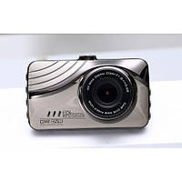 """Видеорегистратор E10 3"""" LCD 1080p 170° Двойная линза, ночное видение, фото 1"""