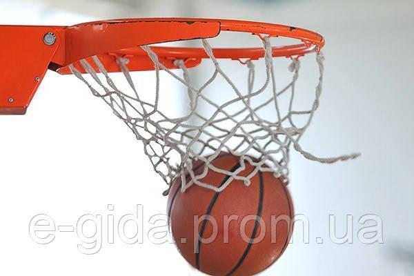 Сітка баскетбольна ПП-5.0 (комплект 2 шт) сетка баскетбольная