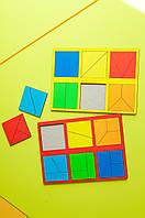 Склади квадрат Нікітіна 1 рівень. НУШ, фото 1