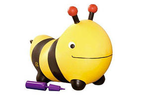 Battat Баттатопрыгун попрыгун Пчела-ла-ла с насосом BX1455Z Bouncy Boing Bizzi Bubble Bee