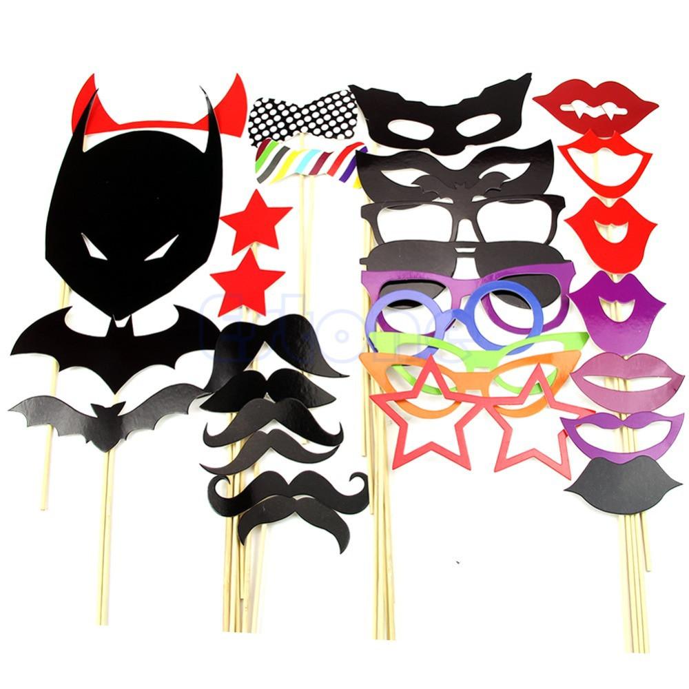 Фотобутафория бэтмен Batman для вечеринок 30 шт