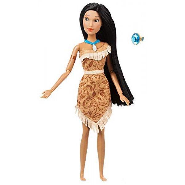 Disney Принцессы Диснея Покахонтас с кольцом для девочки Pocahontas Classic Doll with Ring 2018 Version