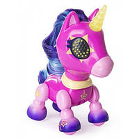 Zoomer Интерактивный единорог звездная пыль Zupps Tiny Unicorn Stardust, фото 1