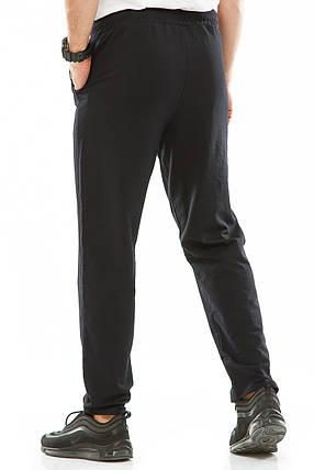 Мужские спортивные штаны 715 темно-синие, фото 2