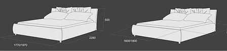 Кровать «Камила -2», фото 2