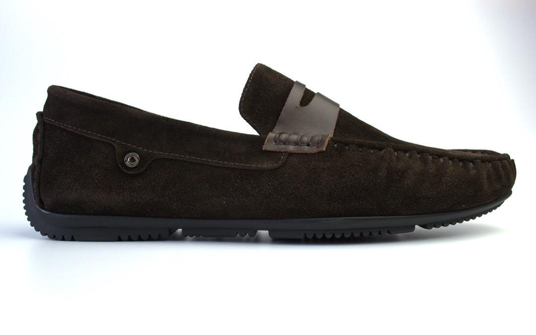 ETHEREAL Classic Night Brown Vel BS Rosso Avangard мокасины коричневые замшевые мужская обувь 50 размер