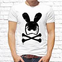 Мужская футболка Push IT с принтом Заяц