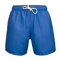 Пляжные шорты синие