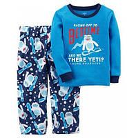 Пижама с флисовыми штанами для мальчика Carters йетти