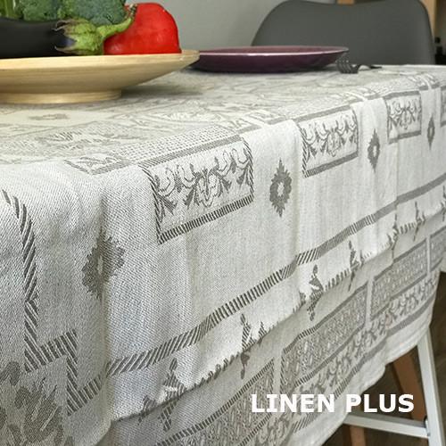 Комплект столового белья, 100% лен
