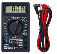 Мультиметр цифровой DT-832 купить оптом и в розницу в Украине,в Харькове,на рынке Барабашово
